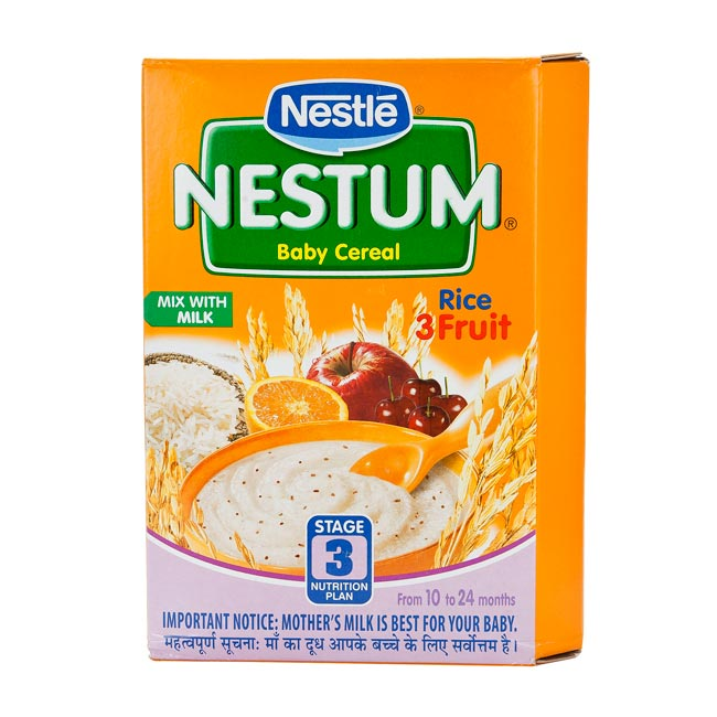 NESTLE NESTUM (10-24 MONTHS) RICE FRUIT - 300 GM