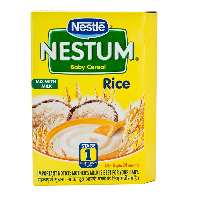 NESTLE NESTUM STAGE 1 RICE - 300 GM