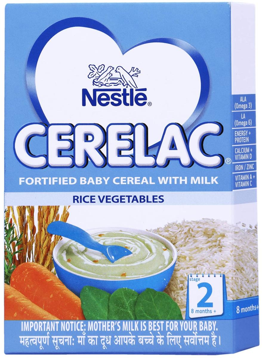 NESTLE CERELAC (8-12 MONTHS) RICE VEGETABLE - 300 GM