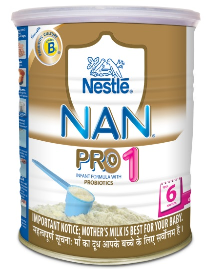 NESTLE NAN PRO 1 INFANT FORMULA - 400 GM TIN