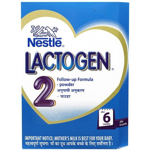 NESTLE LACTOGEN 2 FOLLOW UP INFANT FORMULA  - 400 GM