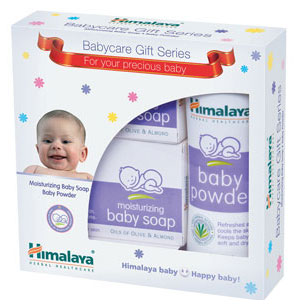 HIMALAYA BABY CARE GIFT SERIES - BABY SOAP & POWDER