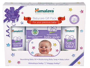 HIMALAYA BABY CARE GIFT PACK - SOAP, OIL & LOTION