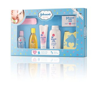 JOHNSONS BABY CARE COLLECTION - SOAP, SHAMPOO, POWDER, CREAM, OIL, COMB, T-SHIRT