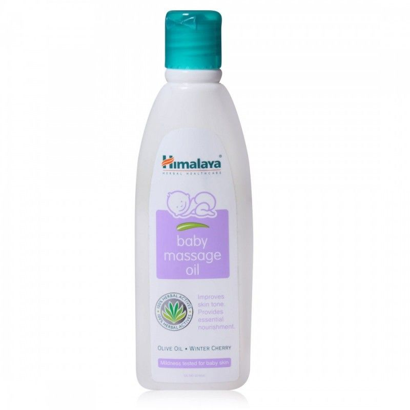 HIMALAYA BABY MASSAGE OIL - 200 ML