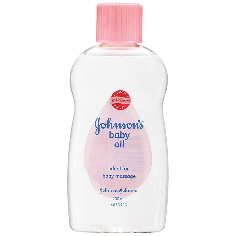 JOHNSONS BABY OIL NEW - 200 ML