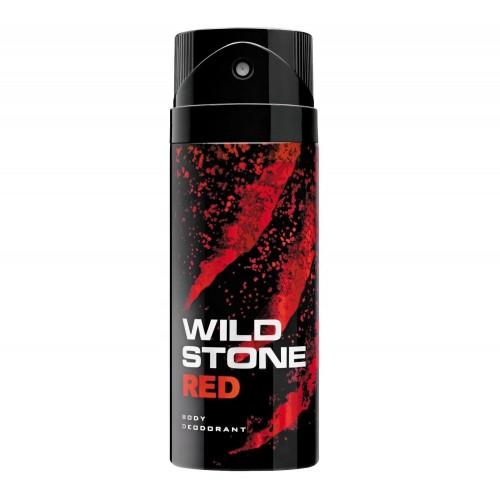 WILD STONE BODY DEODORANT - RED - 150 ML