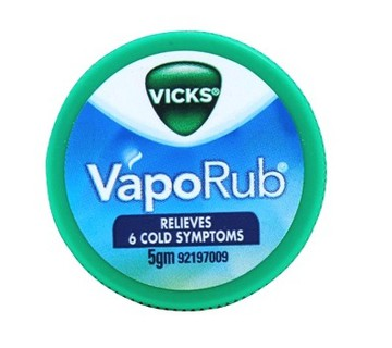 VICKS VAPORUB - 5 GM
