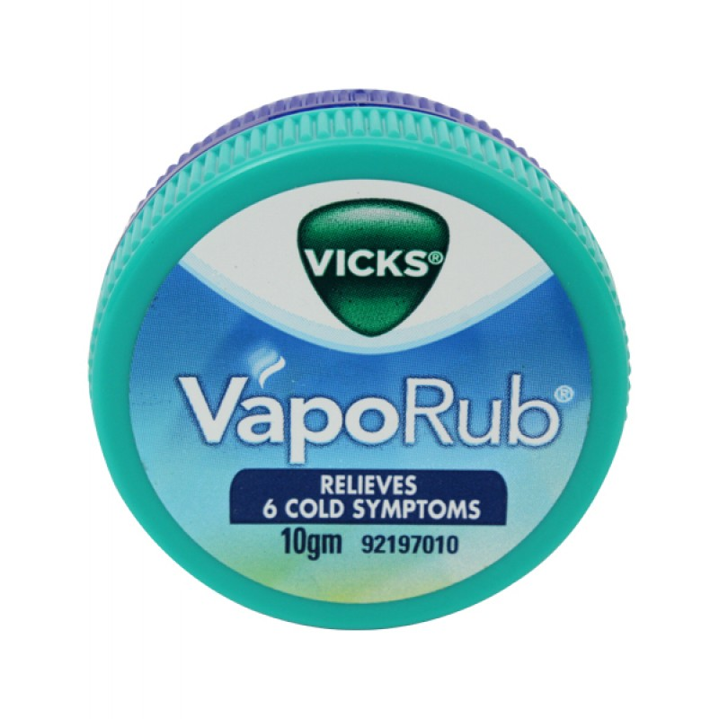 VICKS VAPORUB - 10 GM