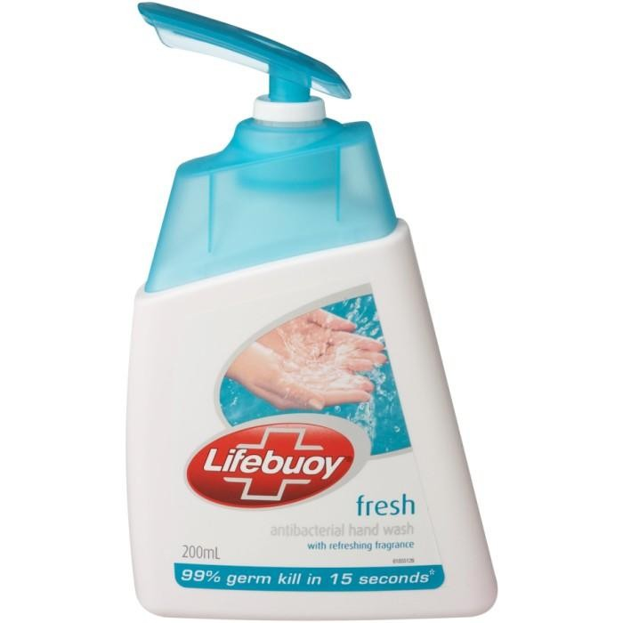 LIFEBUOY HAND WASH BOTTLE COOL FRESH (BLUE) - 190 ML
