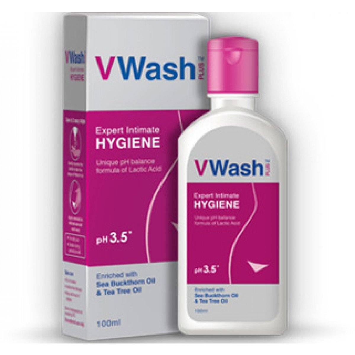 V WASH PLUS EXPERT INTIMATE HYGIENE - 100 ML
