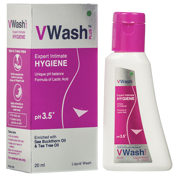 V WASH PLUS EXPERT INTIMATE HYGIENE - 20 ML