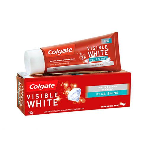 COLGATE VISIBLE WHITE TOOTHPASTE - 100 GM