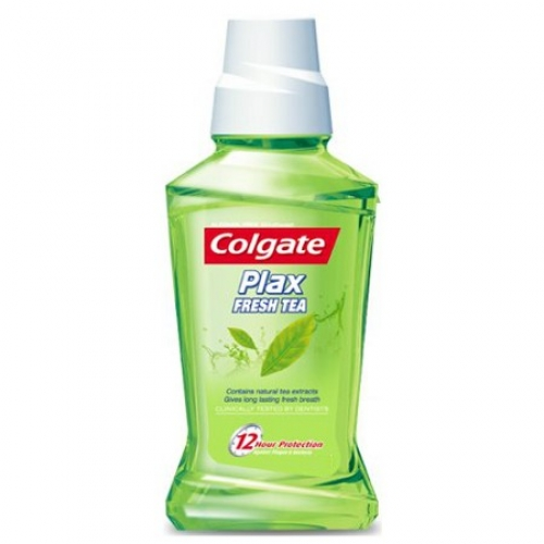 COLGATE PLAX FRESH TEA MOUTH WASH - 100 ML