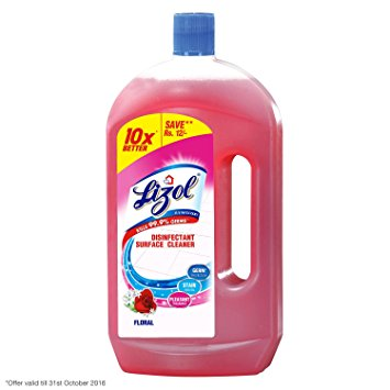 LIZOL FLOOR CLEANER FLORAL - 500 ML