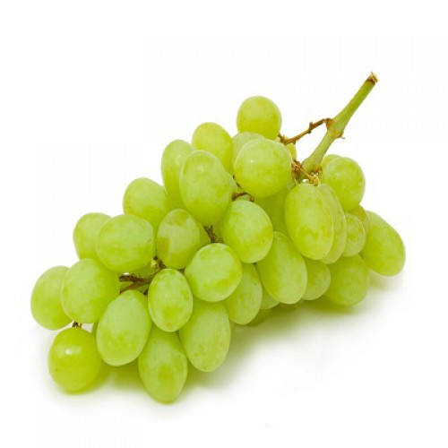 GREEN GRAPES (ANGUR) - 500 GM