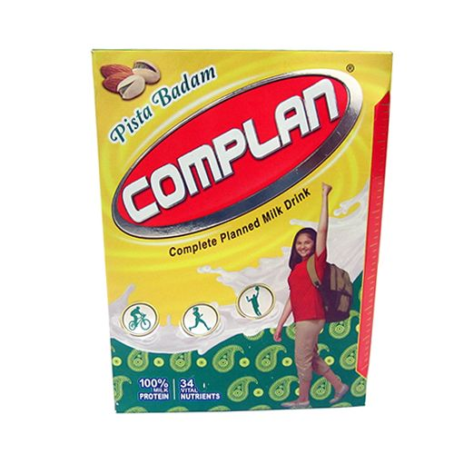 COMPLAN PISTA BADAM HEALTH DRINK - 500 GM CARTON