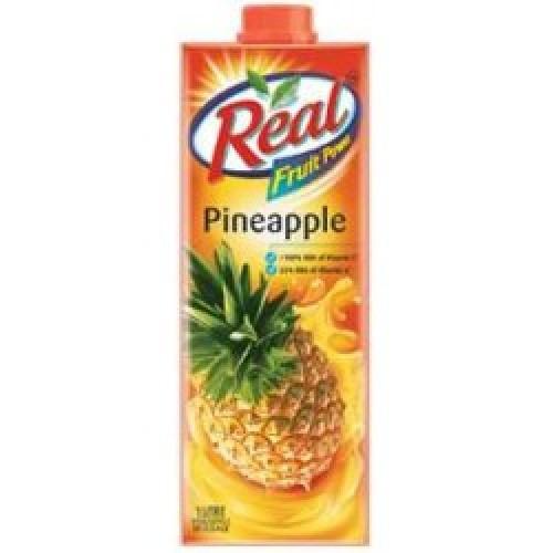 REAL FRUIT JUICE (PINEAPPLE) - 1 LTR CARTON