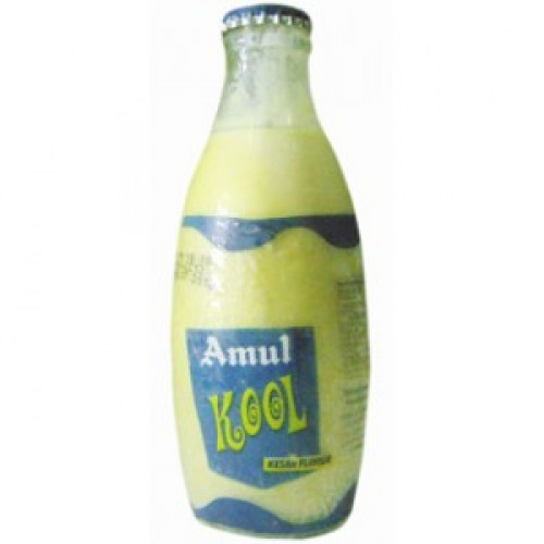 AMUL KOOL KESAR MILK SHAKE PET - 200 ML BOTTLE