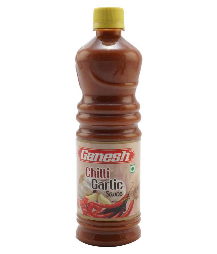 GANESH CHILLI GARLIC SAUCE - 700 GM BOTTLE
