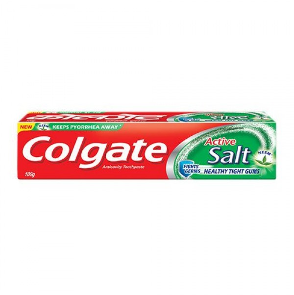 COLGATE ACTIVE SALT AND NEEM TOOTHPASTE - 100 GM
