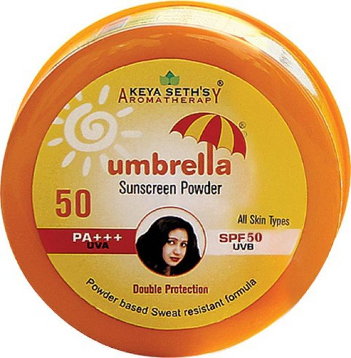 KEYA SETH 50 UMBRELLA SUN SCREEN POWDER SPF 50 FACE CREAM -50 GM