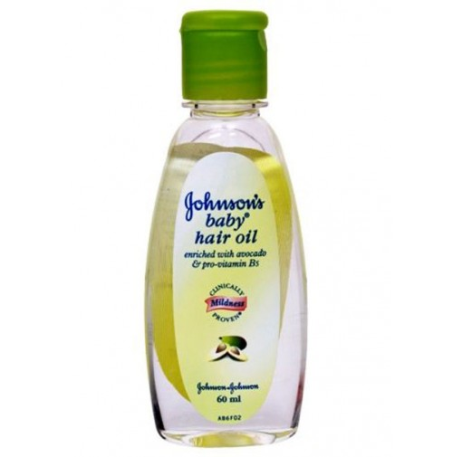 JOHNSONS BABY HAIR OIL - 60 ML