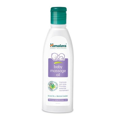 HIMALAYA BABY MASSAGE OIL - 50 ML