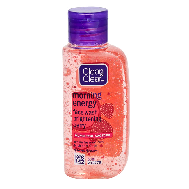 CLEAN & CLEAR MORNING ENERGY BERRY BLAST FACE WASH - 50 ML