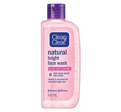 CLEAN & CLEAR NATURAL BRIGHT FACE WASH - 100 ML