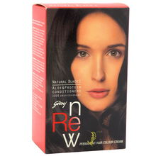 GODREJ HAIR COLOUR NATURAL BLACK 1 - 68 GM + 50 ML PACKET