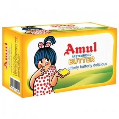 AMUL BUTTER PASTEURISED - 500 GM