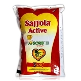 SAFFOLA ACTIVE OIL LOSORB POUCH - 1 LTR