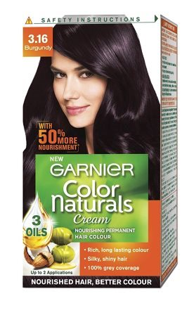 GARNIER COLOR NATURALS BURGUNDY (3.16) - 35 ML & 30 GM