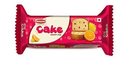 BRITANNIA CAKE FRUITY FUN - 45 GM