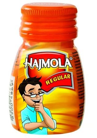 HAJMOLA REGULAR BOTTLE - 120 TABLETS