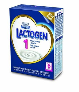 NESTLE LACTOGEN 1 INFANT FORMULA POWDER - 400 GM