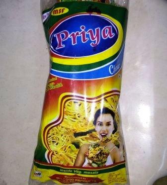 PRIYA THIN MASALA CHOW - 6 PKTS