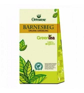 GOODRICKE BARNESBEG ORGANIC GREEN TEA - 100 GM