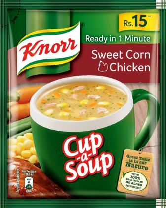 KNORR CHICKEN SOUP - SWEET CORN - 13 GM