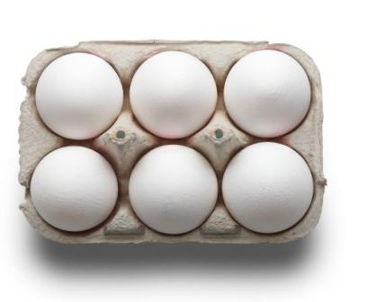 POULTRY EGGS - 6 PCS