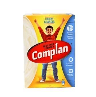 COMPLAN CREAMY CLASSIC HEALTH DRINK - 500 GM CARTON