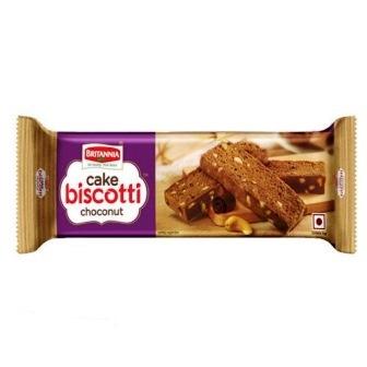 BRITANNIA CAKE BISCOTTI CHOCO NUT - 70 GM