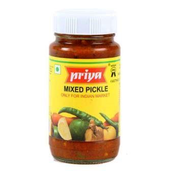 PRIYA MIXED VEGETABLE PICKLE - 300 GM