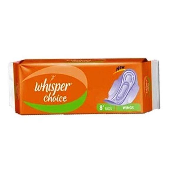 WHISPER CHOICE WINGS SANITARY PADS - 7 PCS