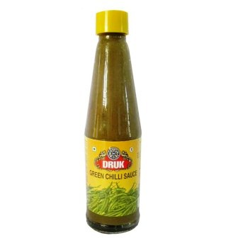 DRUK GREEN CHILLI SAUCE - 200 GM