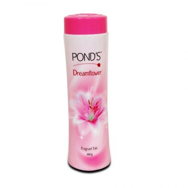 PONDS DREAMFLOWER TALCUM POWDER - 100 GM PLUS FREE 2 WHITE BEAUTY CREAM