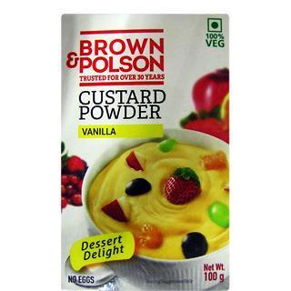 BROWN & POLSON CUSTARD POWDER - 100 GM