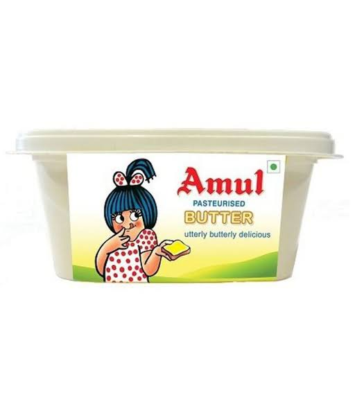 AMUL BUTTER PASTEURISED - 200 GM