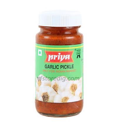 PRIYA GARLIC PICKLE - 300 GM